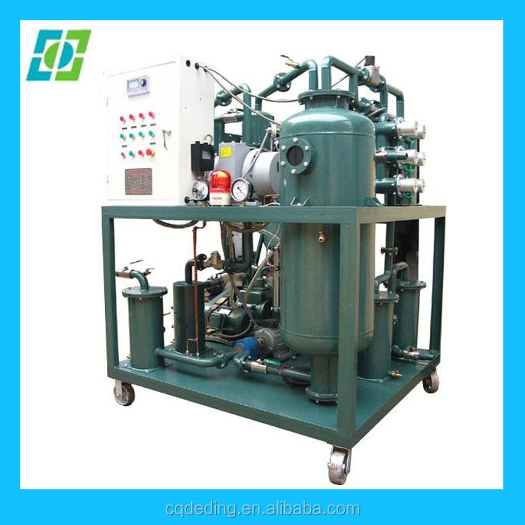 advanced technology black engine oil regeneration purification,waste turbine oil dehydration