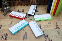5000mah piano power banks with led lights, piano shaped chargers 5000mah