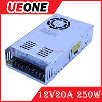 Factory pirce 12v switching power supply 250w constant voltage power supply