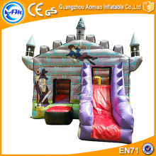 0.55mmPVC inflatable bouncer castle bouncer baby rocking for sale