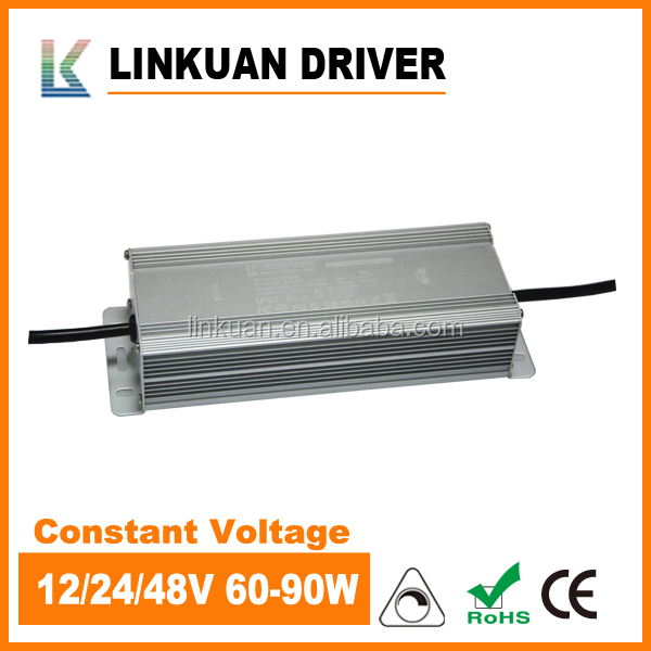 Constant voltage triac dimming led driver and led power supply 24v