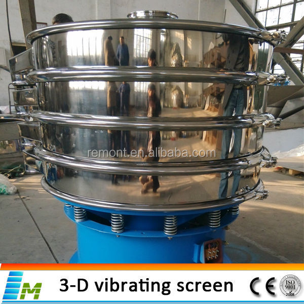 High quality food concrete vibrator screen