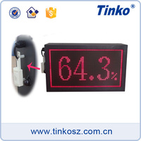 Workshop Temperature LED Display Digital Temperature Humidity Display Indoor with Calendar