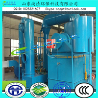 Infectious Medical Waste Incinerator/ Two Chambers Hospital Solid Waste Treatment Device