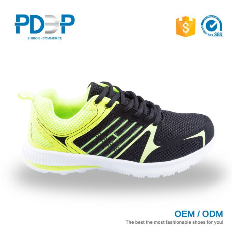 Customized color fashion model step gym shoes