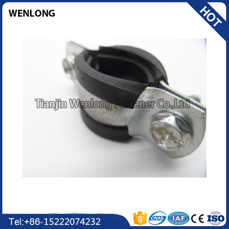 High quality stainless steel hanging pipe clamp