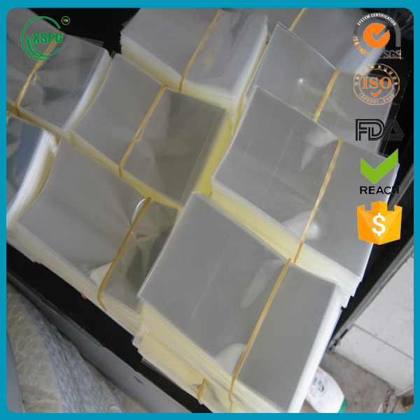 Opp plastic packing polybag with self adhesive