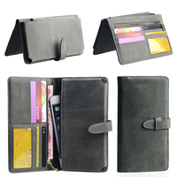Universal Genuine Leather Phone Wallet Cover