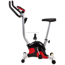 Belt Exercise Bike Cycling Trainer Fitness Machine Home w/ Display