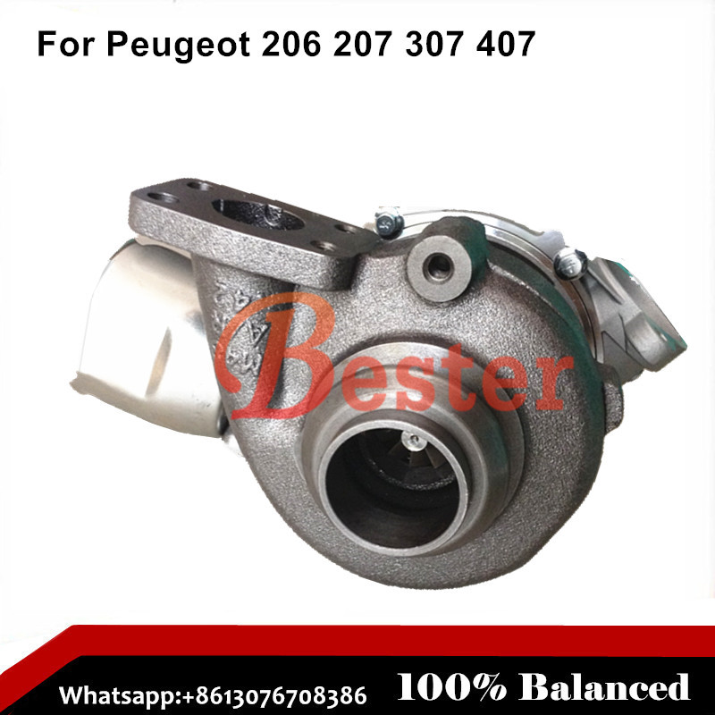 9660641380 9663199280 9654128780 turbocharger for Volvo S40 V50 1.6L DI 1600 ccm 4 Cylinders 80/109 HP