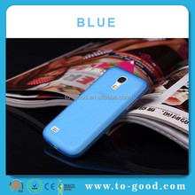 Custom Design Cell Phone Case For Samsung Galaxy S4 Mini I9190 (Blue)