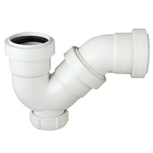 HDPE PP PVC pipe fittings Plastic Floor drain Trap, U Trap S Trap, P Trap sizes