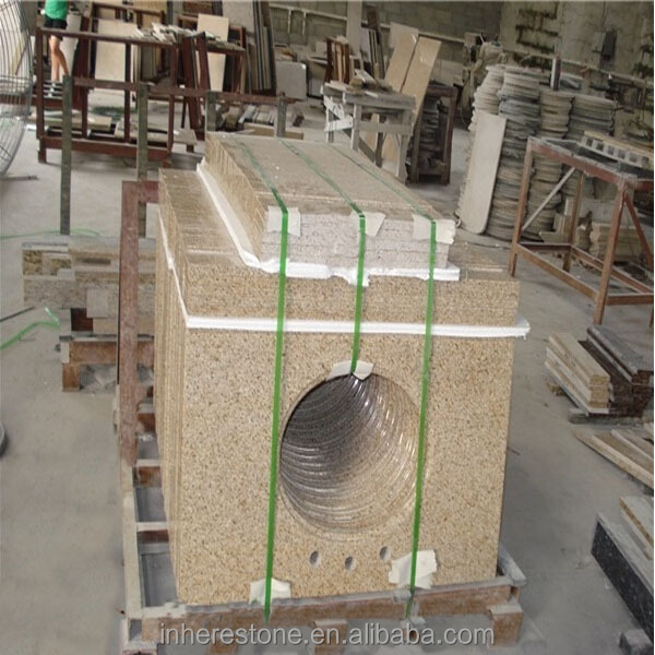 Chinese G682 good quality prefab granite countertop