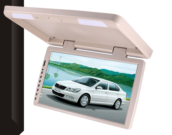 17.3 inch brand new tft lcd panel roof dvd car radio for universal car