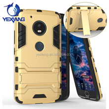 New Product 2017 Slim Armor TPU PC Tough Kickstand Case For Moto G5 Covers