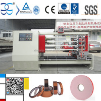 Scotch BOPP Adhesive Tape Roll Cutting Machine