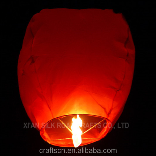 Cheap price luminaria sky lantern
