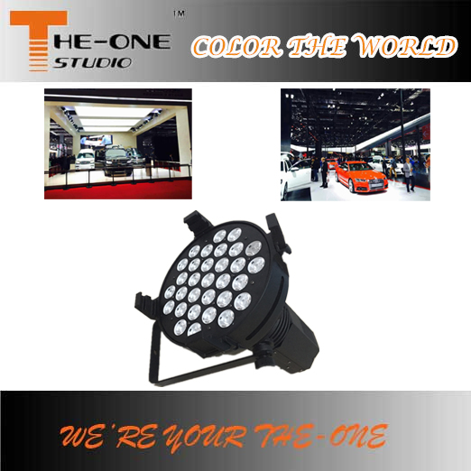 31x10W dmx shape led up lighting car show theme lighting