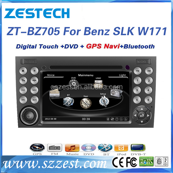 7 inch 2 din wince system car audio system for Mercedes Benz SLK Class W171 R171 car dvd player with car gps 3G Bluetooth Radio