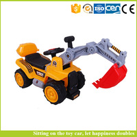 Kids Electric or Pedal truck excavator excavators can sit Ride toys
