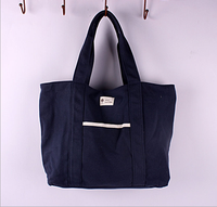 The South Korean portable and enviromentally friendly canvas bag shopping bag