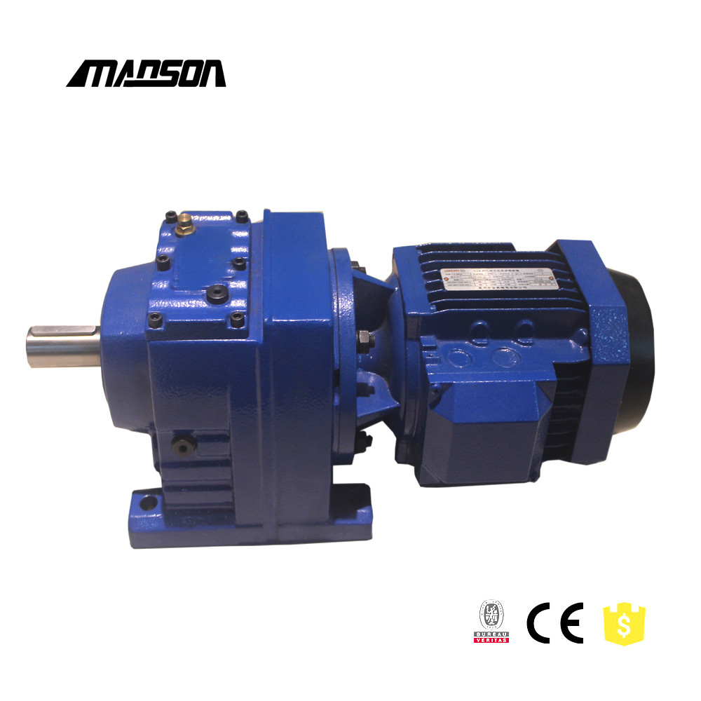 China Manufacturer High torque Helical gear reduction gearbox electric motor reducer prices for sales