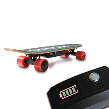 Good price factory supply gyroor small electric skateboard 4 wheels Well Designed