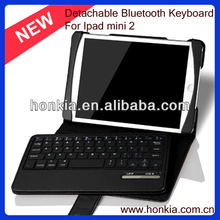 Newest Design Hot Sale Detachable Wireless Keyboard For ipad mini 2