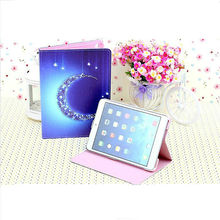 Luxury high quality diamond necklace pattern leather case for iPad Mini 2