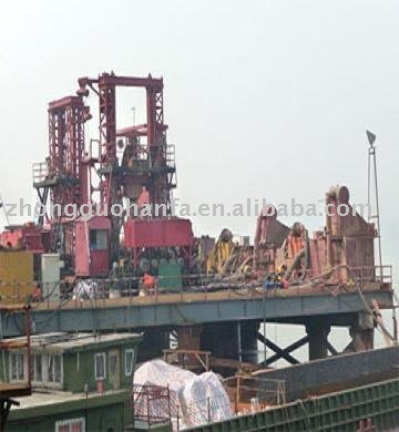 KP3500 Type Hydraulic Drilling rig used in Nanjing bridge construction