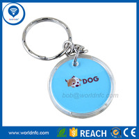 Professional RFID key Tag 13.56Mhz Ultralight C RFID key fob Manufacturer