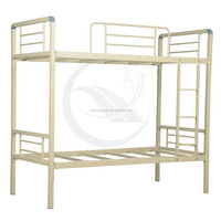 furniture bedroom steel bunk bed with desk and locker