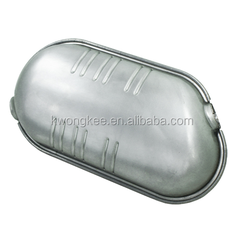 409 Stainless Steel Front Stamped Box Muffler for Renault Laguna II 1.92