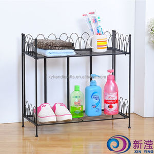 2 -Tier Home Use Storage Rack Cubby Storage Shelf