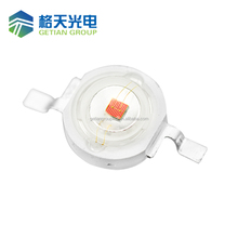 Gold-plated frame high power led 3W UV 365nm led diodes