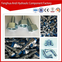 40A flange end hydraulic fitting swivel rotary joint