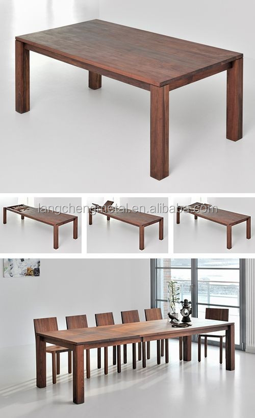 Heavy-duty Single Side Telescopic Dining Table Channel(extension table mechanism)