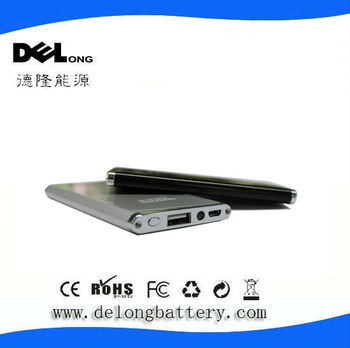 4000mAh portable power bank with long lasting for digital device