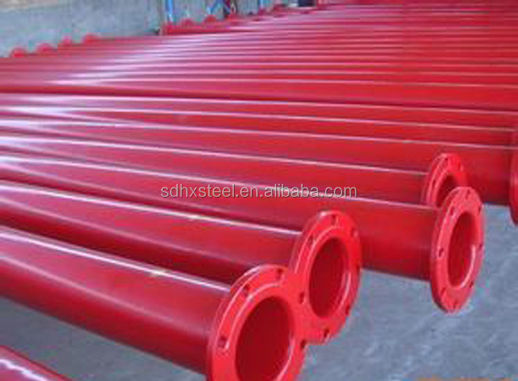 trade assurance supplier sonic logging tube with 5.8m plastic-coated steel pipe