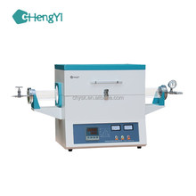 Factory Laboratory CE Certified High temperature electric atmosphere PID programmable control 1200c resistance tube furnace