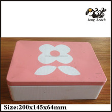 Top Grade Multifunction Square Candy Packaging Metal Tin Box