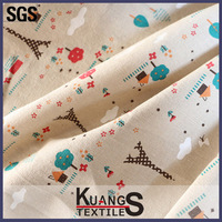textiles cotton fabric for tea towel wholesale