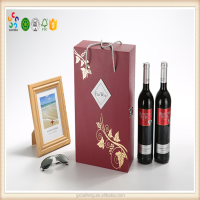 China factory online selling customized special paper cardboard wine box