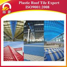 Terracotta color Plastic spanish roofing tile/ Synthetic resin spanish roof tile/ PVC Spanish roofing sheets