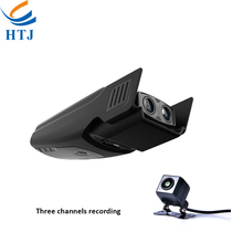 Hot Sale Full HD 1080p Car Dvr with Front and Rear Dual Lens Dash Camera