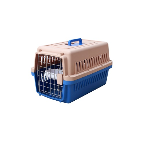 Foldable Plastic Pet Carrier dog cage