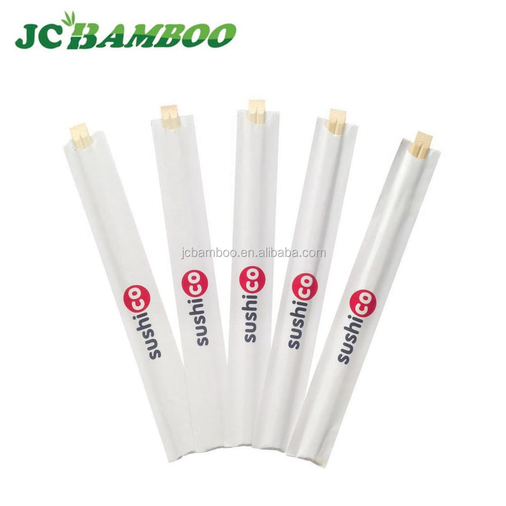 LFGB Bulk cheap bamboo disposable chopstick 23cm