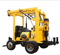Machine 100-1000m Depth Truck Mounted Water Well Drilling Rig
