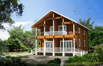 wood houses prefabricated homes LOG-101