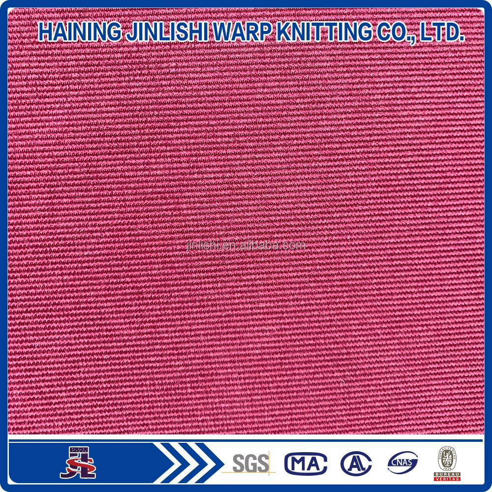 resistant tricot dazzle 75D dryfit double brushed fabric